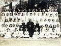 Priest, nun, First Communion Fortepan 101578.jpg