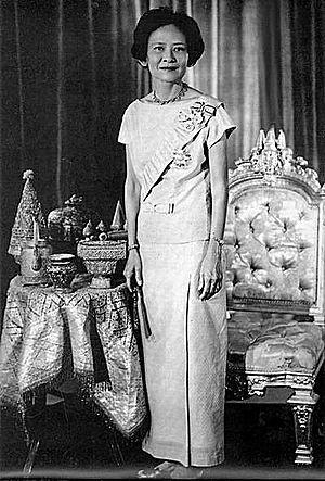 Srinagarindra - Srinagarindra in 1957