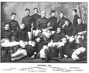 1882 Princeton Tigers football team - Image: Princeton Tigers football team (1882)