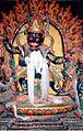 Protective deity, Gyantse Kumbum.JPG
