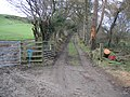 Public Footpath to Pen-y-mynydd - geograph.org.uk - 346632.jpg
