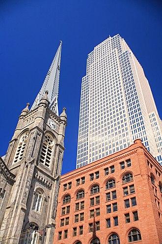 Public Square, Cleveland - Image: Public Square buildings