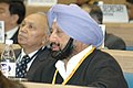 Punjab Chief Minister Captain Amarinder Singh, addressing at the National Development Council 52nd Meeting, at Vigyan Bhawan, New Delhi on December 9, 2006.jpg
