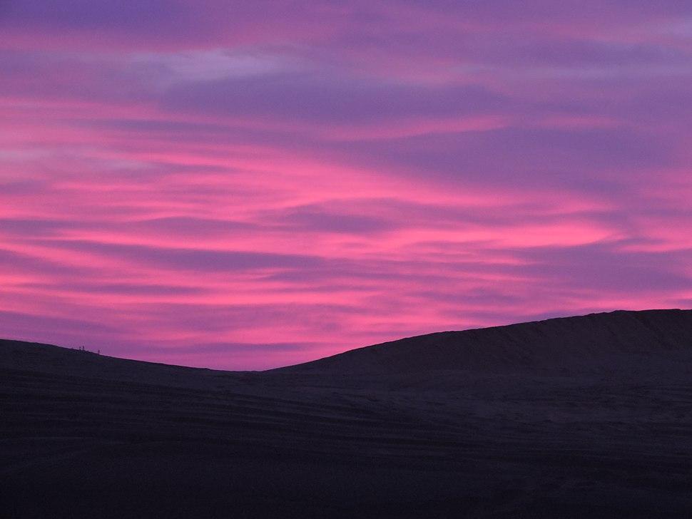 Purple Skies of Jaisalmer
