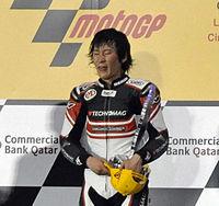Qatar Moto2 podium 2010 cropped.jpg