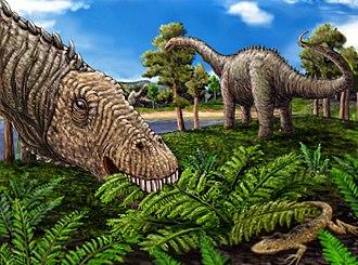 Quaesitosaurus - Restoration with hypothetical body
