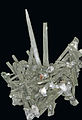 Quartz prase - hedenbergite - et chlorite (Ganesh Himal, Katmandu - Népal) 1.jpg