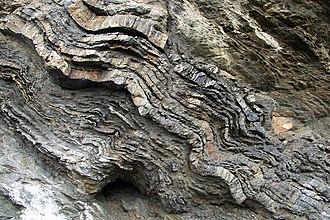 Noisetier Cave - quartzite and schist