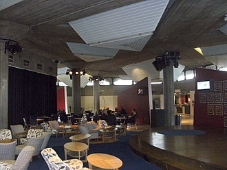 Queen Elizabeth Hall - The foyer in 2011