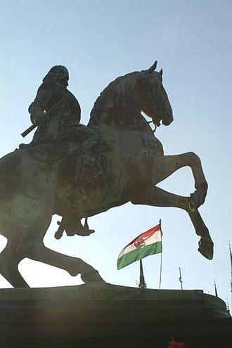 Rákóczi's War of Independence - Rákóczi statue in Budapest, Hungary