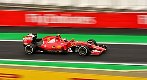 2015 Brazilian Grand Prix - By finishing fourth, Kimi Räikkönen moved within one point of Valtteri Bottas in the Championship.