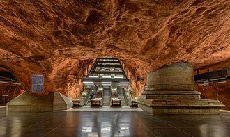 Rådhuset metro station - Image: Rådhuset metro station June 2015