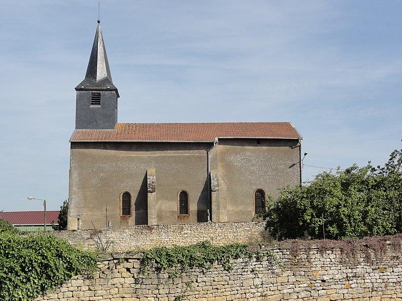 Réchicourt (Spincourt, Meuse) église