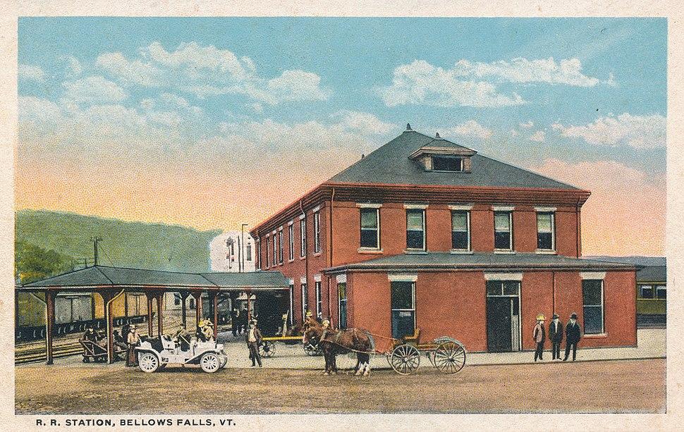 R. R. Station, Bellows Falls, VT