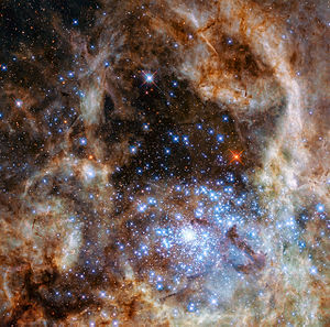 R136 - Image: R136 observed with WFC3
