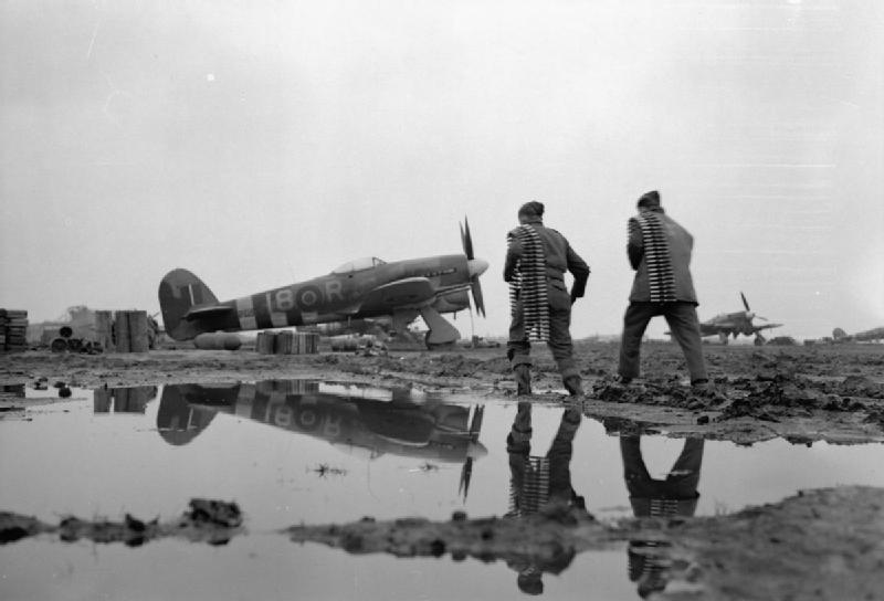RCAF Typhoon Holland 1944 IWM CL 1598