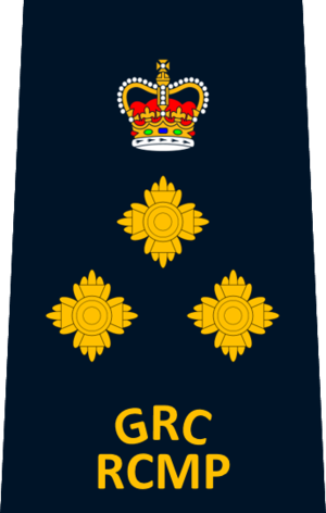 Police rank - Image: RCMP Assistant Commissioner