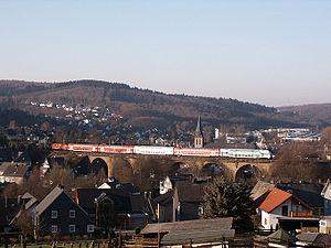 Dill Railway - Regional-Express in Rudersdorf