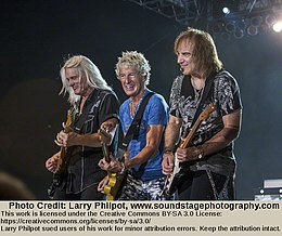 REO Speedwagon performs in Indianapolis, 2011.jpg