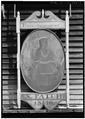 REVERSE OF TAVERN SIGN - Noah Brooks Tavern, North Great Road (State Route 2A), Lincoln, Middlesex County, MA HABS MASS,9-LIN,5-4.tif