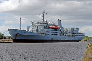 RFA <i>Fort Austin</i> (A386) British Fort Rosalie-class dry stores ship of the Royal Fleet Auxiliary