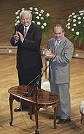 RIAN archive 863940 Russian President Boris Yeltsin and Tatar President Mintimer Shaimiyev (cropped).jpg