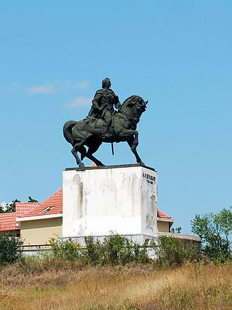 Vrancea County - The Suvorov monument near Focșani