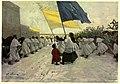 RYAN(1910) Malta - pic21 A Procession at Sunset at Citta Vecchia, Malta.jpg