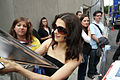 Rachel Weisz Signs Autographs outside of the Tiff '08 Press Conference for The Brothers Bloom 02.jpg