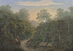 Raden Saleh - Javanese Mail Station, 1876.jpg