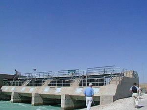 Southeastern Anatolia Project - Radial floodgates