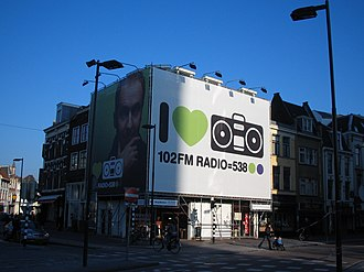 Radio 538 - Dutch Radio 538 commercial outing, in 2006 at the Neude in Utrecht