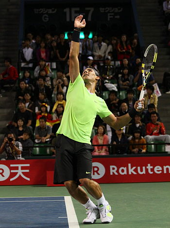 Rafa Nadal 7738 2 Japan Open Tennis Tokio 2010