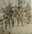 Raffaello da Montelopo - Cinq guerriers.jpg