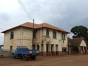 Usambara Railway - Image: Railstation in Moshi