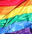 Rainbow flag - harvey milk plaza, castro, san francisco (2012) (8071047278).jpg
