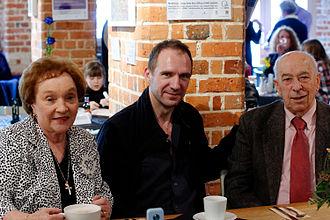 Ralph Fiennes - Ralph Fiennes with Eddie and Gloria Minghella at the 2011 Minghella Film Festival