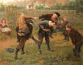 Ralph Hedley The tournament 1898.jpg