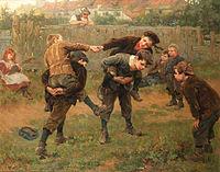 Ralph Hedley The tournament 1898.jpg