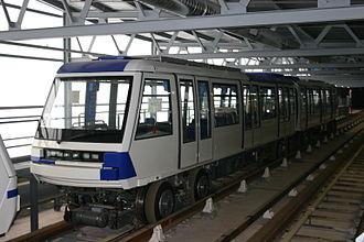 Rubber-tyred metro - Lausanne Metro line M2 based on MP 89 (Paris Métro)