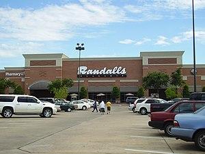 Randalls - A Flagship Randalls store in Houston, Texas.