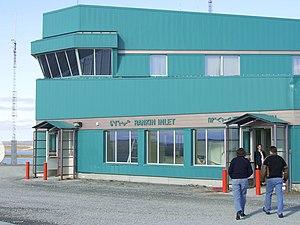 Rankin Inlet Airport - Image: Rankin Inlet Airport terminal