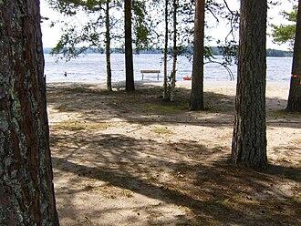 Jämsä - Image: Rasua Jämsänkoski 24 heinä 2009