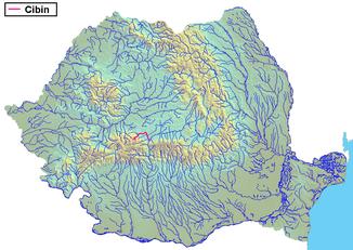 The Cibin in Romania