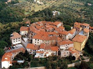 Gavorrano - The old town of Ravi.