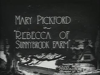 File:Rebecca of Sunnybrook Farm (1917).webm