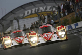 Rebellion Racing - Rebellion Racing's two cars at the 2011 24 Hours of Le Mans.