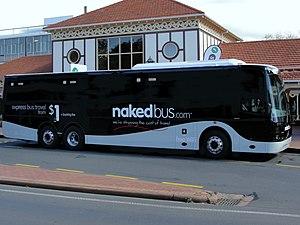 Nakedbus.com - Kiwi Bus Builders-bodied Volvo B11R in Rotorua in April 2014