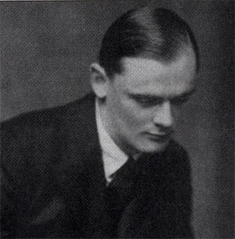 Terence Reese - Terence Reese as a young man