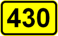 Regionalna cesta R2-430 - prometni znak (Slovenija).PNG